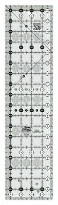 "Creative Grids Quilt Patchwork Ruler 4.5"" x 18.5"" Rectangle - CGR418"