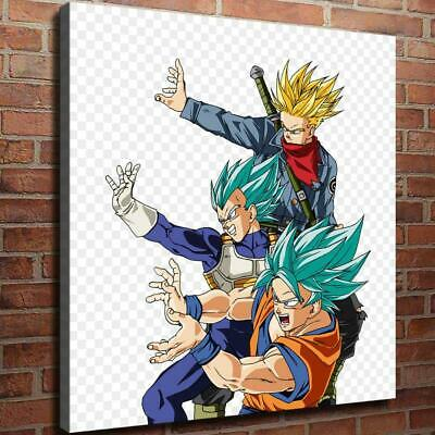 "12""x14"" Gohan Vegeta Goku HD Print on Canvas Home Decor Wall Art Picture picture"