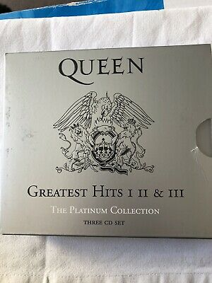 Queen - Greatest Hits 1,2, & 3 (The Platinum Collection) - 3 x CD Album