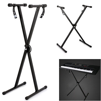 Electronic Piano X Stand Music Keyboard Standard Portable Rack Adjustable UK