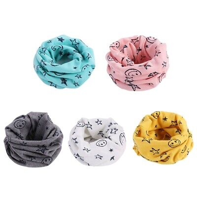 Baby Kids Toddler Girl Boy Snood Scarf Neck Warmer Multi Colour Popular