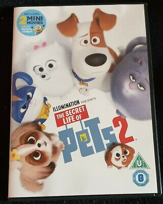 Brand New The Secret Life of Pets 2 [DVD] Christmas Gift