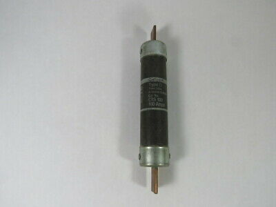 Cefco CRS-100 Time Delay Fuse 100A 600VAC  USED