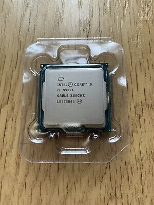 Intel i9 9900k CPU Faulty - Spares & Repairs - Not Working