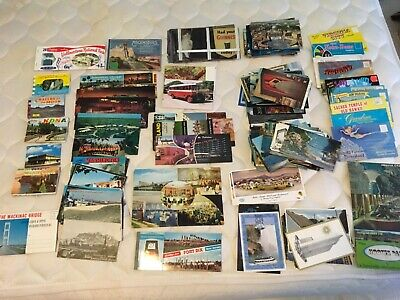 100 + postcards used and unused variety leather etc..