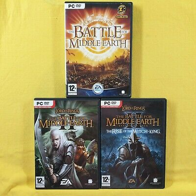 pc LORD OF THE RINGS Battle for Middle Earth Games PAL Region Free