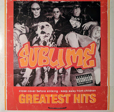 "SUBLIME Greatest Hits Album LP + 7"" Flexi COLORED VINYL - Record Store Day 2018"