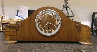 Large Garrard Westminster Chimes Mantle Clock