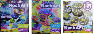 Rock Art Design Your Own Rock Art Galactic Metallic Groovy Rock Art Work New