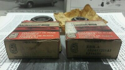 Ford Pt No 1516152 +1516159 Genuine Oem Wheel Bearings