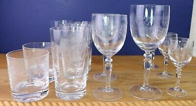 Dampierre Durand Highball Lowball Wine Goblet Water Glasses Tumblers Your Choice
