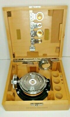 Carl Zeiss Universal Rotary  4 -Axis  Fedorov Stage Excellent condition