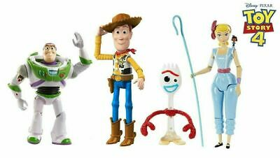 Toy Story 4 Adventure Story Action Figure 4-Pack Box Forky Bo Peep Woody Buzz