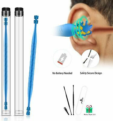Ear Wax Removal, Ear Cleaner Kit, New Turbofan Structure for Complete Cleaning.