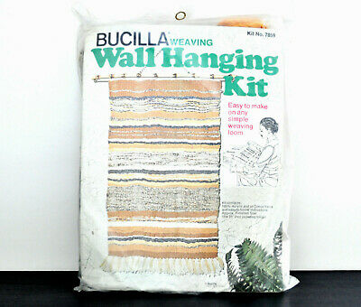 Vintage Bucilla Weaving Kit Number 7859
