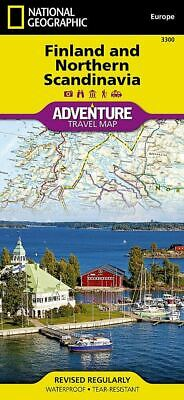 National Geographic Finland & Northern Scandinavia Europe Adventure Map 3300