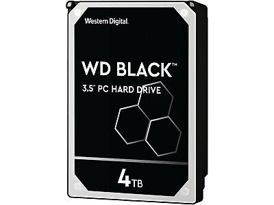 4TB Western Digital Black WD4003FZEX-00Z4SA0 7200RPM SATA 6Gb/s 64MB Cache HDD