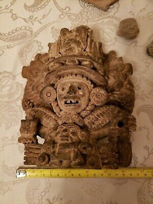 RARE Pre-Columbian Mayan Artifacts Antiquity Pottery Central America antiquities