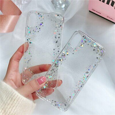 Case For iPhone 11 Pro Max 2019 Bling Sparkle Clear Soft TPU Silicone Back Cover