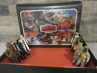 Star Wars Action Figure Collector's Case Empire Strikes Back Kenner 1981 vintage
