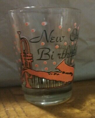 New Orleans Birthplace of Jazz Shot Glass