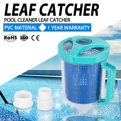 Vacuum Leaf Catcher Canister Suction Above Below Ground Swimming Pool Cleaner