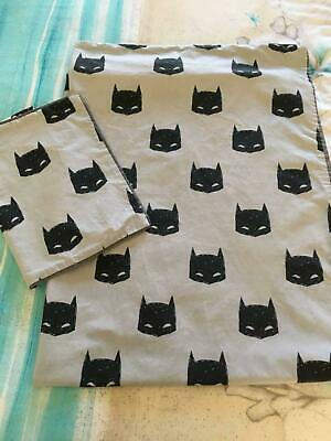 Adairs Batman Cot Quilt Cover   Pillowcase - Used