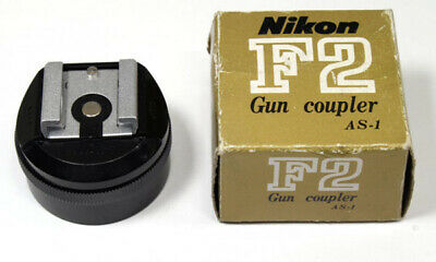 Nikon Flash Unit Gun Coupler AS-1 Adapter For F2 **EXCELLENT** Condition