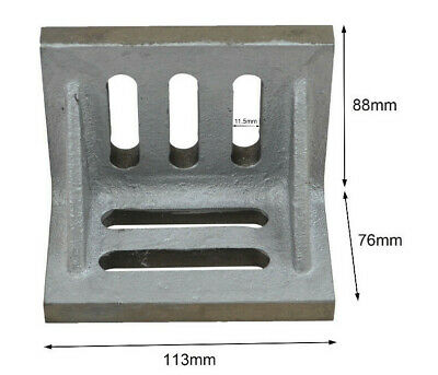 "Cast Iron Angle Plate 4.5"" x 3.5"" x 3"". Precision Tool. Machining/ Milling/ CNC"