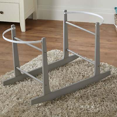 Grey Moses Basket Rocking Stand