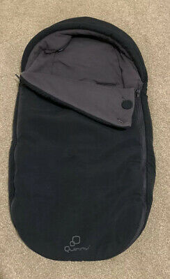 Quinny Moodd Baby Nest Cocoon  Footmuff Cosytoes Black