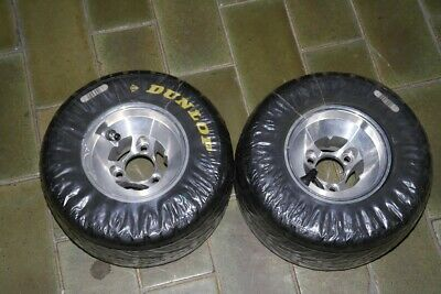 Front Go Kart Wheels With Dunlop Kt14  10 X 4.50-5 New Never Used.