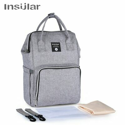 Multi-Function Baby Diaper Bag Nappy Mummy Changing Large Backpack Organizer