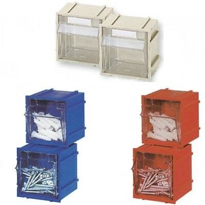 Tray Flip Clear Very Resistant Stackable 65 x 74 x H77 MM