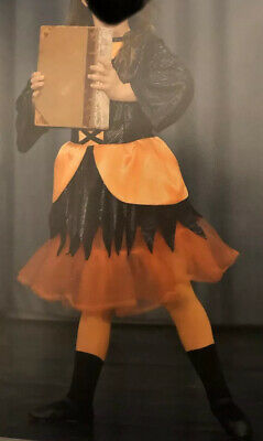 Witch Festival Dance Fancy Dress Outfit Costume Age 8-10 Hocus Pocus