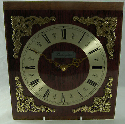 Buckingham Clock Face with Untested Movement for Spares or Repair