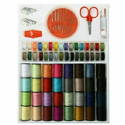 Pack of 64 Rolls Different Colour Sewing Thread & 30 Needle Pack NEEDLEWORK DIY