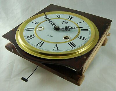 Vintage Clock Movement Dial Hands Spares Repair