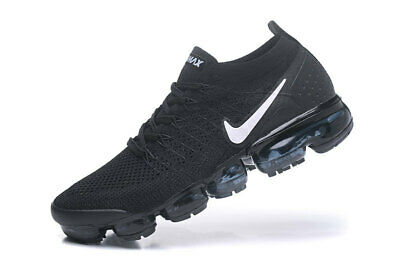 Nike Air Vapormax 2018 Flyknit 2.0 MEN Black Running Trainers Shoes