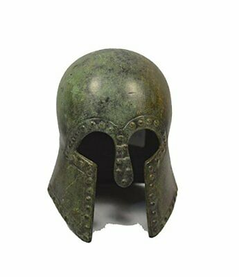 Ancient Greek small Helmet bronze reproduction artifact