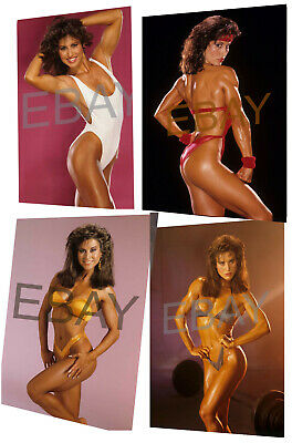 4x Rachel Mclish Female Muscle Bodybuilder Fitness 8x10 Photos 18 25 Picclick Rachel mclish was the first ms. picclick