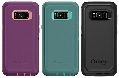 New OEM Otterbox Defender Screenless Case for Samsung Galaxy S8 - With Holster ^