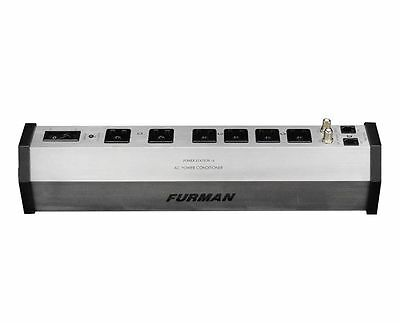 Furman PST-6 15A AC Strip 6-outlet Power Strip/Conditioner and Surge Protector