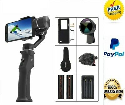 Handheld Gimbal Stabilizer For Smartphone mobile phone Capture 3 Axis