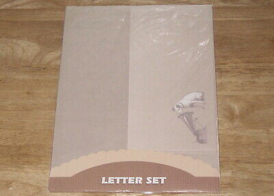 RCA NIPPER The Dog and Phonograph LOGO STATIONARY PAPER & ENVELOPES LETTER SET
