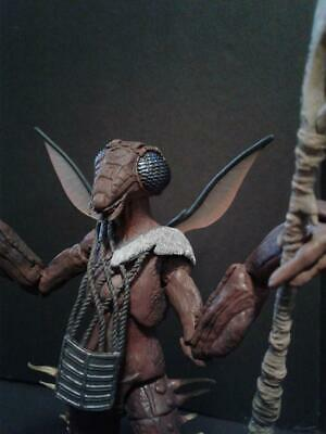 """Star Wars Yam'rii Alien Custom Action Figure Head Casts 1:12th or 6-7"""" scale"""