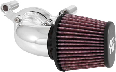 K & N Aircharger High Performance Intake System - Polished 63-1131P
