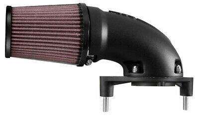 K & N Aircharger High Performance Intake System - Black/Natural 63-1139