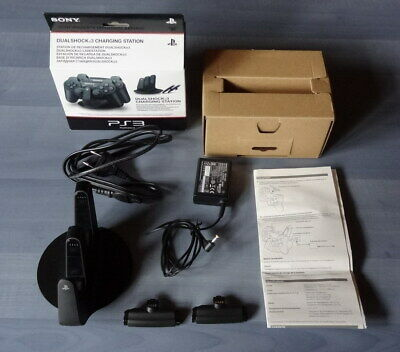 Original Sony Ladestation Charging Station fuer 2 Controller Playstation 3 PS3