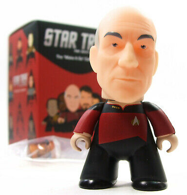 "Titans STAR TREK THE NEXT GENERATION Make It So Series PICARD 3"" Vinyl Figure"